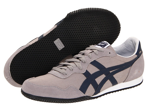 Onitsuka Tiger by Asics - Serrano (Grey/Navy) Classic Shoes