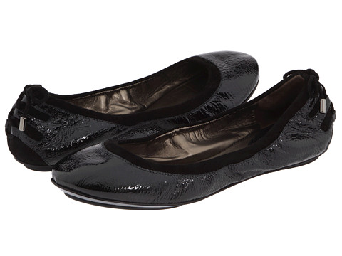 Cole Haan - Air Bacara Ballet (Black Patent) Women's Flat Shoes