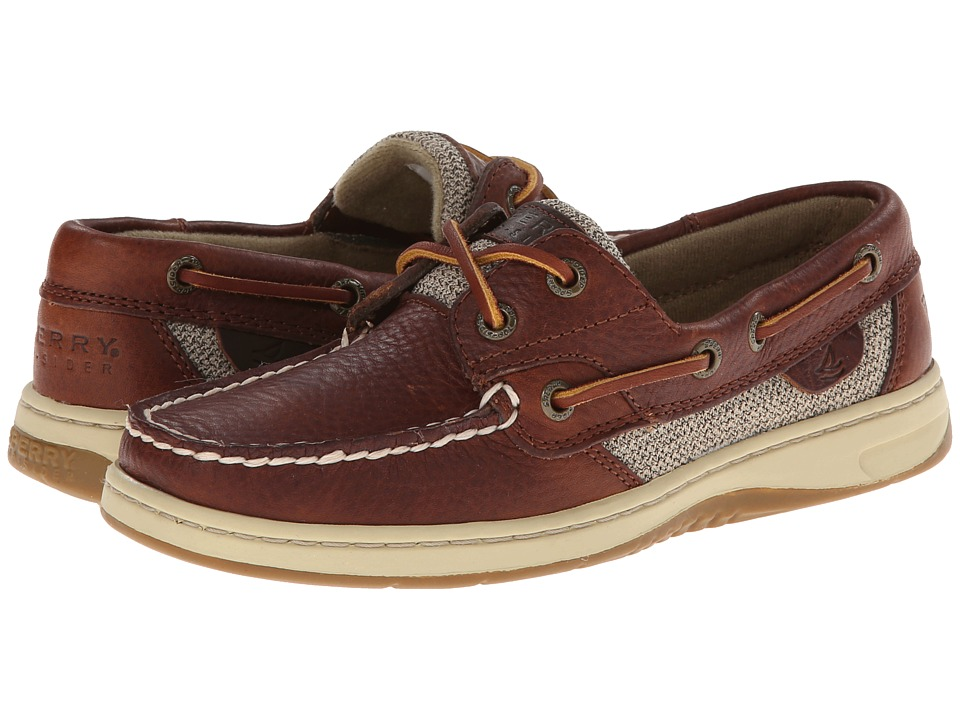 Sperry - Bluefish 2-Eye (Tan) Women's Slip on Shoes