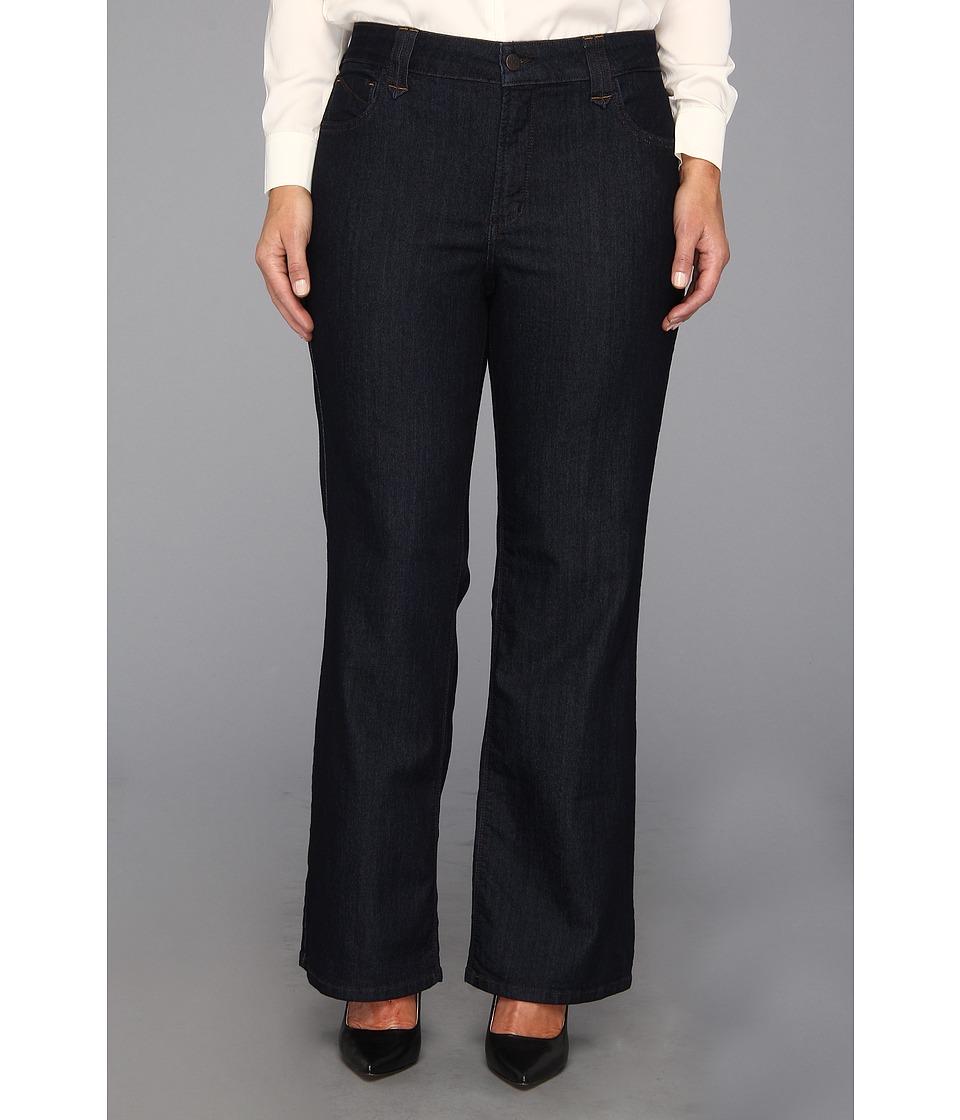 NYDJ Plus Size - Plus Size Hayden Bootcut in Dark Enzyme (Dark Enzyme) Women's Jeans