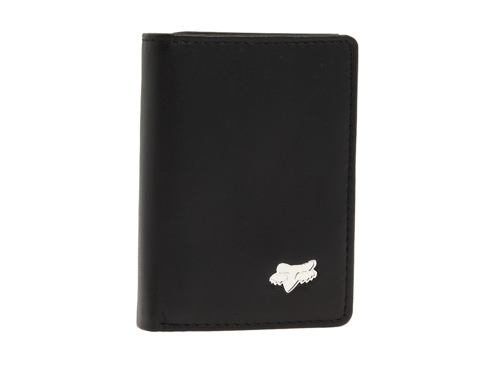Fox - Trifold Wallet (Black) Bill-fold Wallet