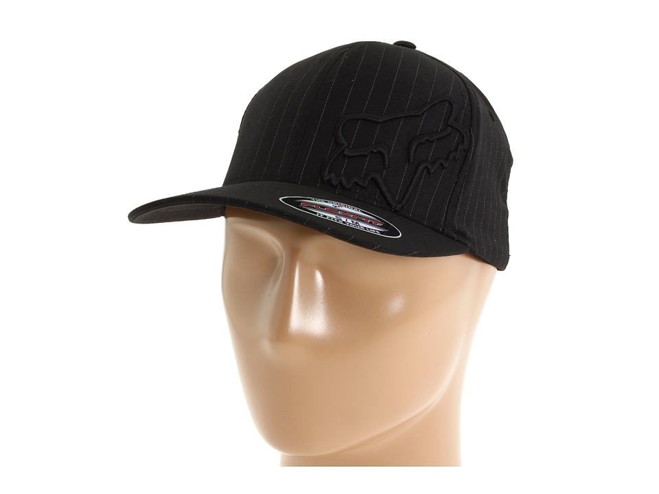 Fox - Faith Flex 45 Flexfit Hat (Black Pinstripe) Caps