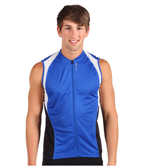 Sugoi - RPM S/L Jersey (Olympian/Black/Ice) Men's Sleeveless