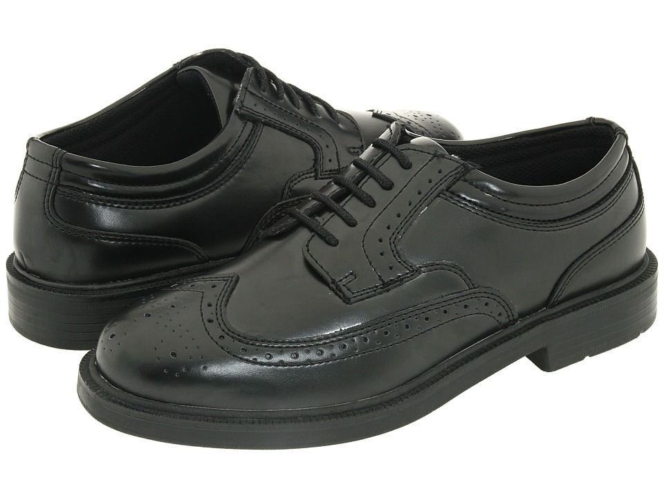 Deer Stags - Tribune (Black) Men's Lace Up Wing Tip Shoes