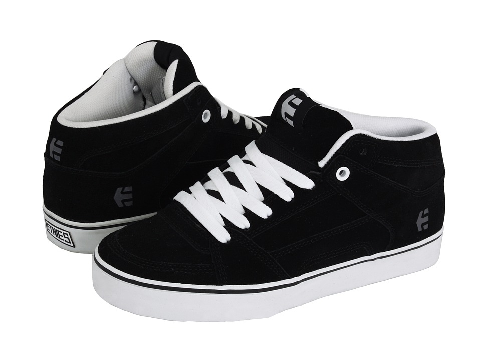 etnies - RVM (Black/White) Men's Lace up casual Shoes