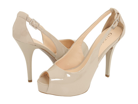 GUESS - Hondo (Natural Patent) High Heels