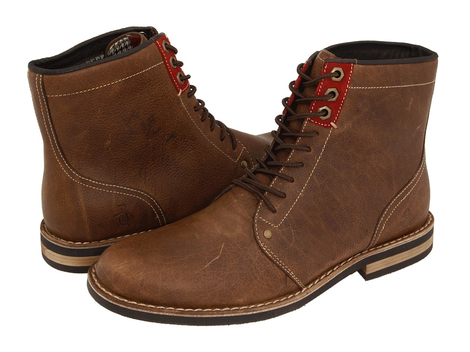 Original Penguin - Jerry Jeff (Drago) Men's Lace-up Boots