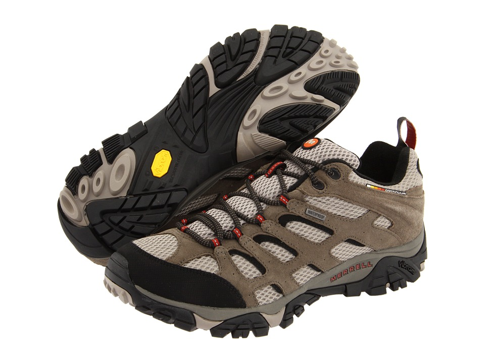 Merrell Moab Waterproof (Bark Brown Leather) Men