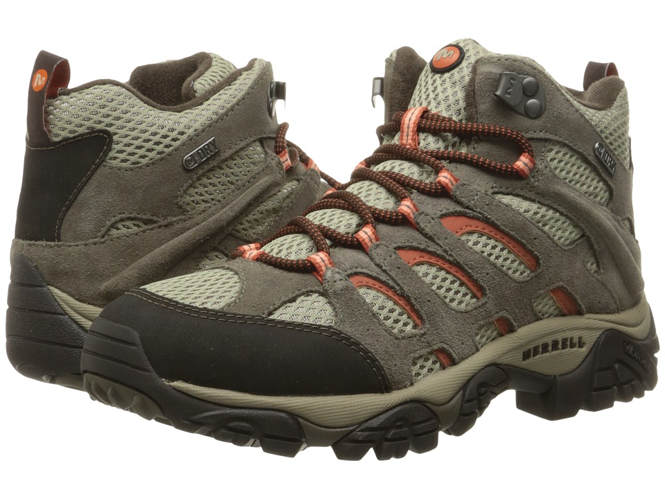 Merrell - Moab Mid Waterproof (Bungee Cord) Women's Hiking Boots