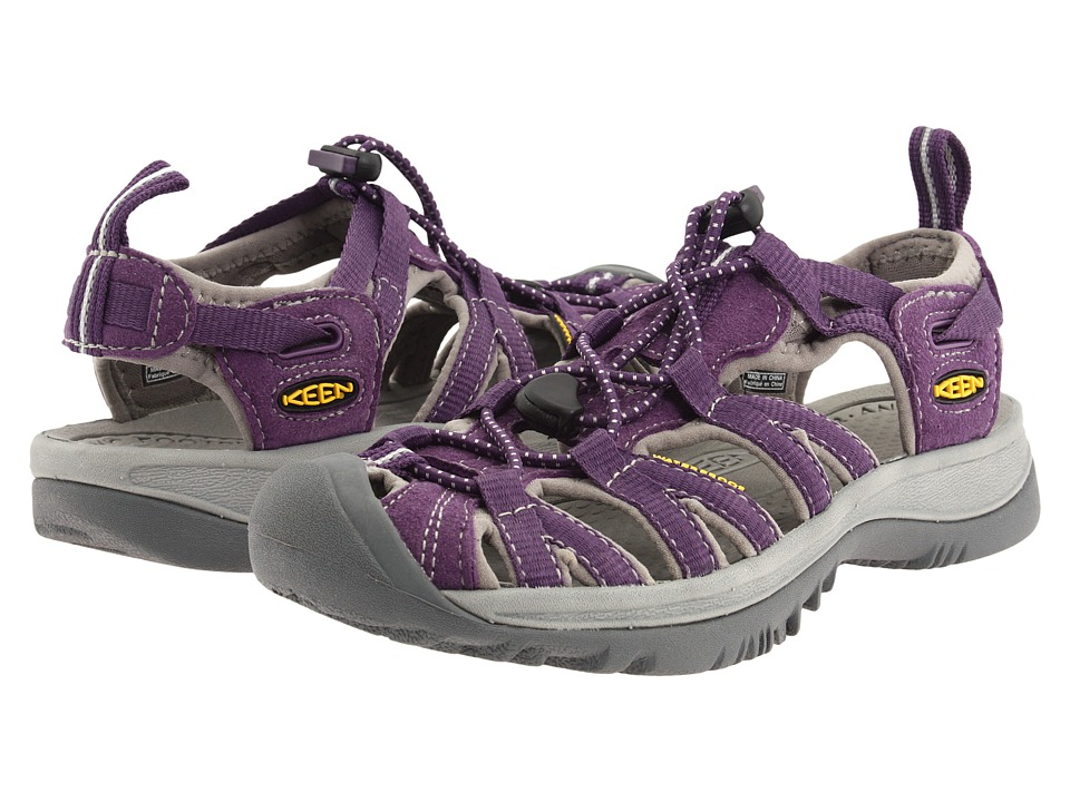 Keen - Whisper (Sweet Grape/Neutral Grey) Women's Sandals