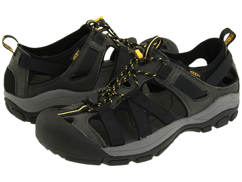 Keen - Owyhee (Black/Keen Yellow) Men