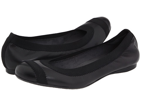 Stuart Weitzman - Giveable (Black Nappa Leather) Women's Flat Shoes