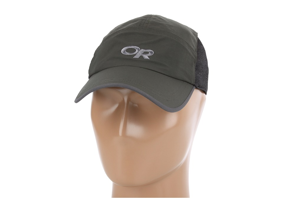 Outdoor Research - Swift Cap (Evergreen/Dark Grey) Baseball Caps