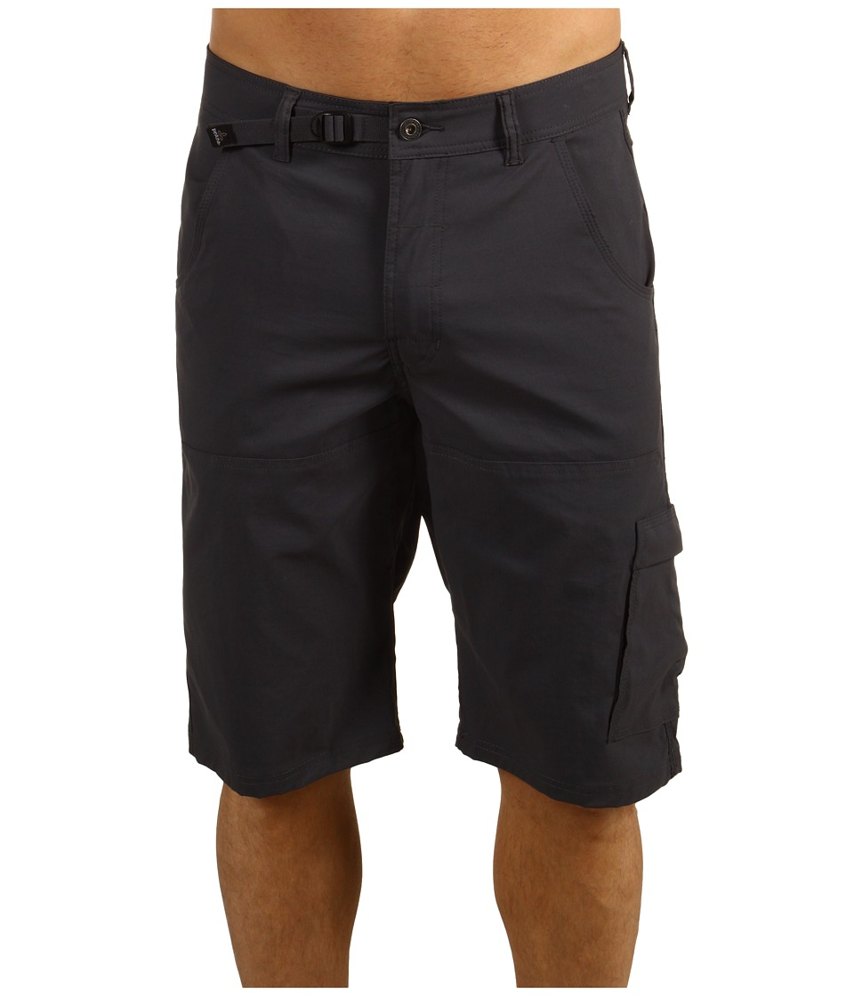 Prana - Stretch Zion Short (Charcoal) Men's Shorts