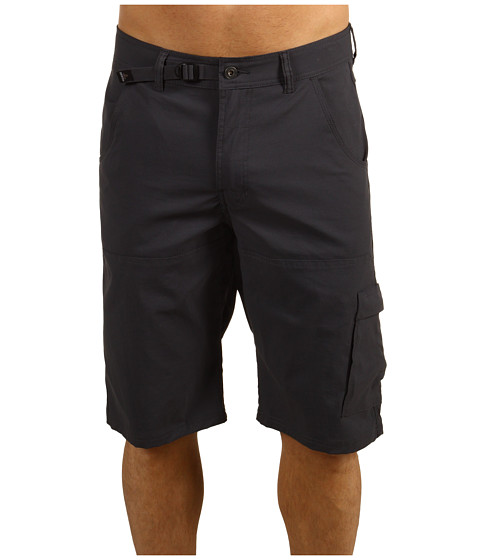 Prana - Stretch Zion Short (Charcoal) Men