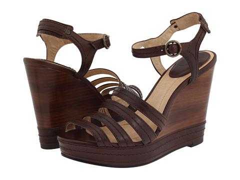 Frye - Corrina Stitch (Dark Brown Soft Leather) Women