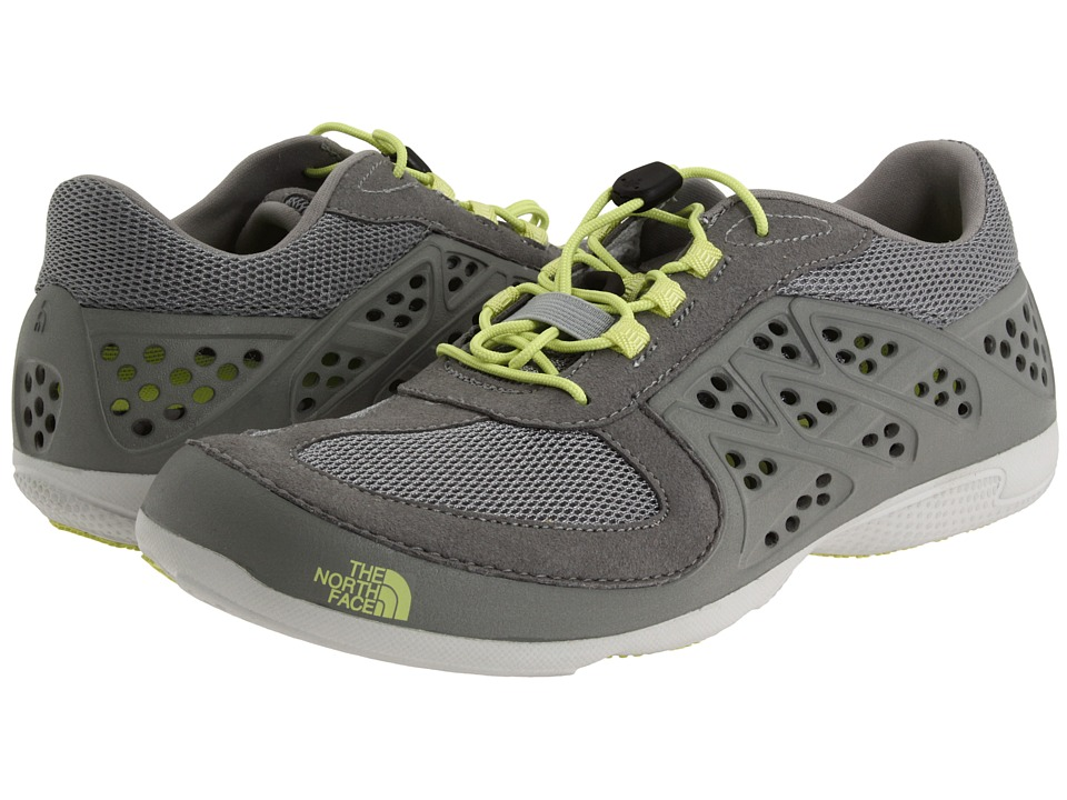 The North Face - Hydroshock (Alloy Grey/Exotic Green) Women's Shoes