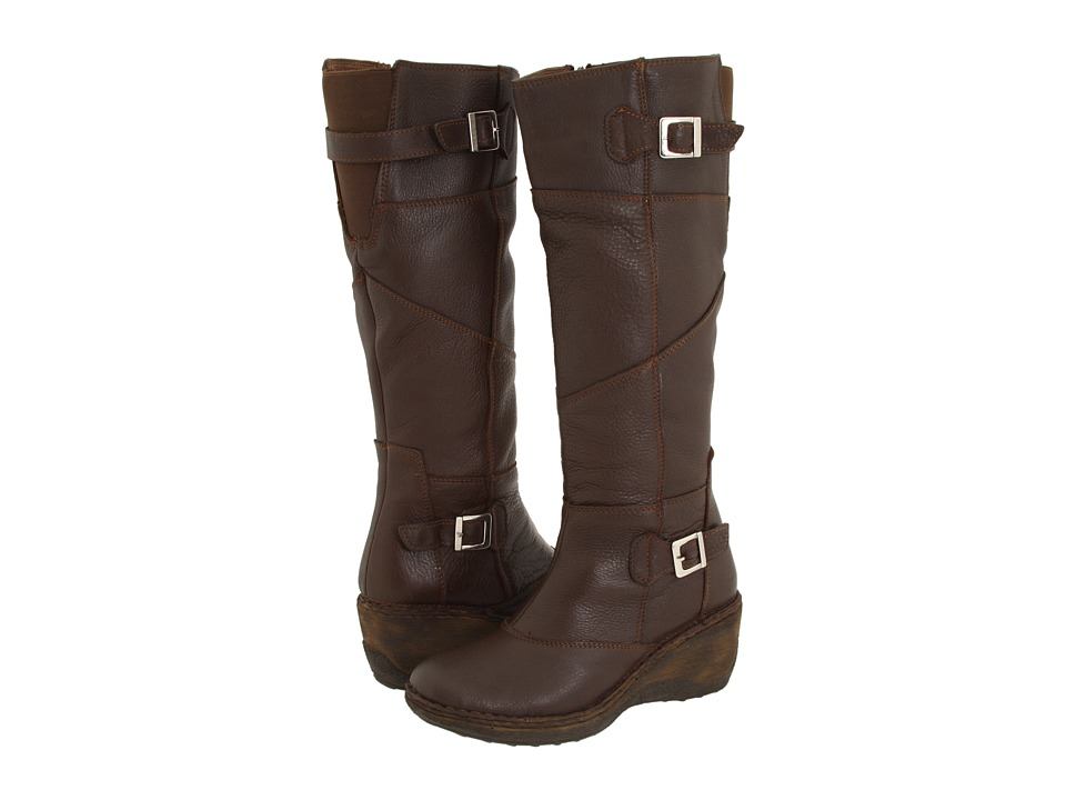 Lassen - Kansas Wide Calf 5410 (Coffee) Women's Zip Boots