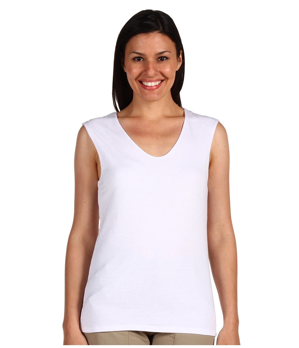 Toad&Co - Simplex Tank Top (White) Women's Sleeveless