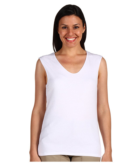 Toad&Co - Simplex Tank Top (White) Women
