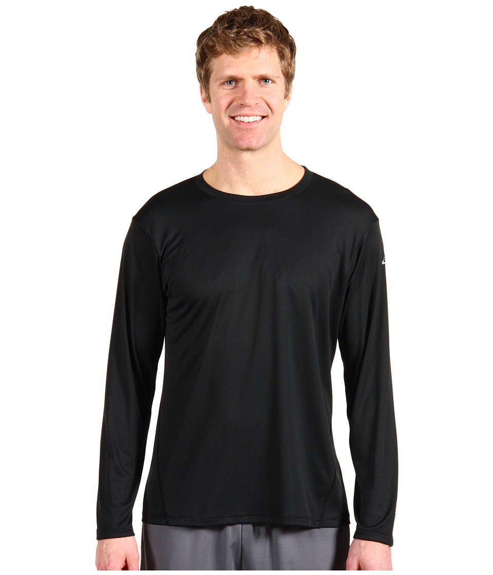 ASICS - ASICS Core Long Sleeve (Black) Men's Long Sleeve Pullover
