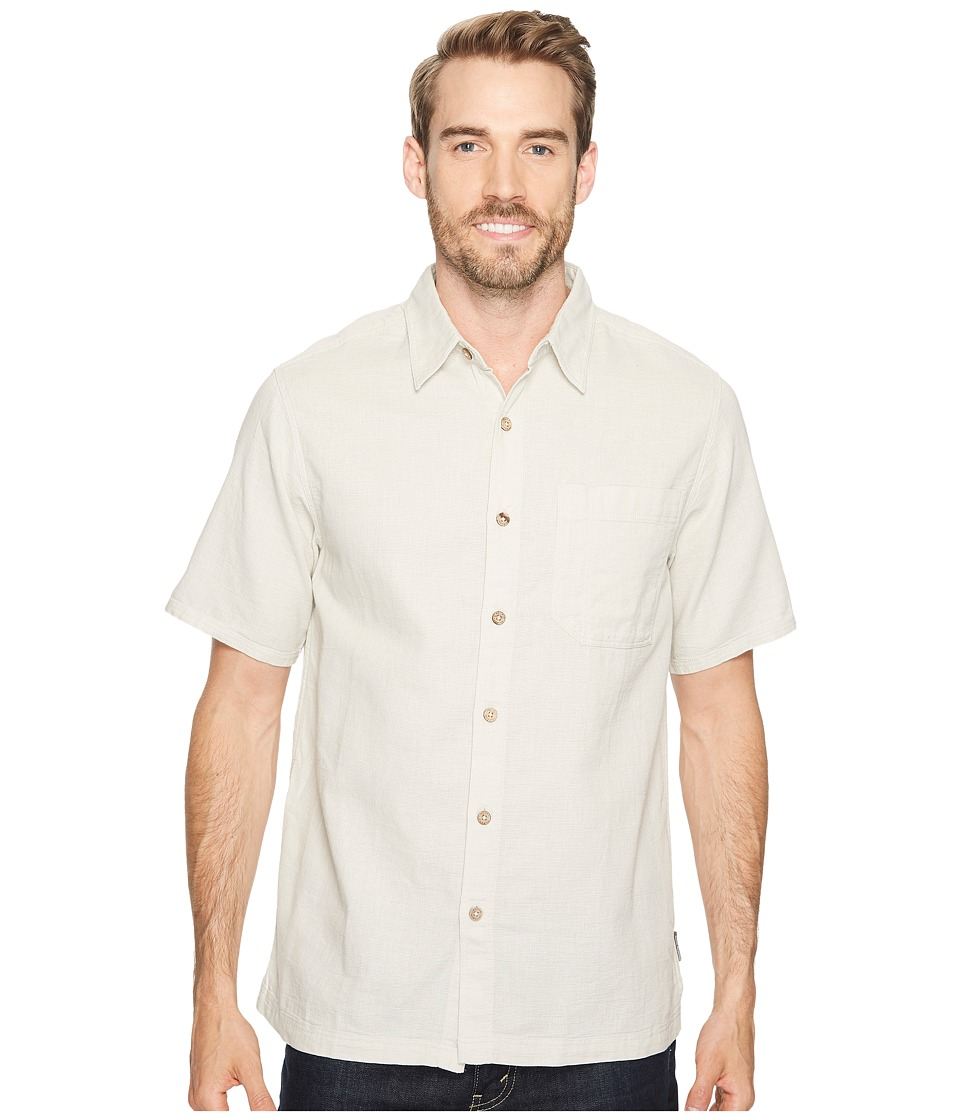 Royal Robbins - Cool Mesh S/S (Soapstone) Men's Short Sleeve Button Up