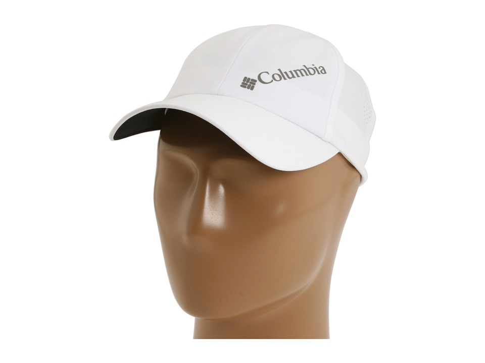 Columbia - Silver Ridge Ball Cap II (White) Baseball Caps