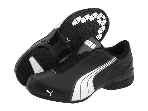 PUMA - Super Elevate (Black/White/Dark Shadow) Men's Shoes