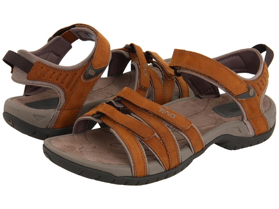 Teva - Tirra Leather (Rust) Women's Sandals
