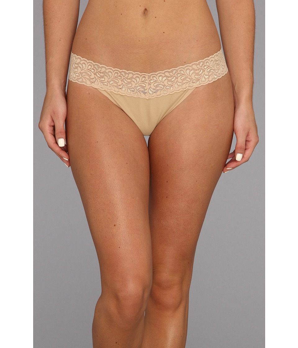 ExOfficio - Give-N-Go Lacy Thong (Nude) Women's Underwear