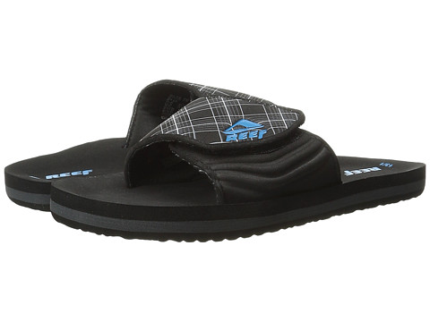 Reef Kids - Grom Ahi Slide (Infant/Toddler/Little Kid/Big Kid) (Black) Boys Shoes