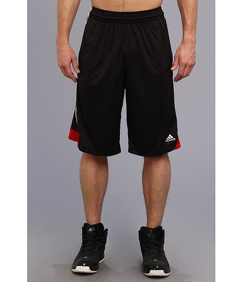 adidas - 3G Speed Short (Black/White/University Red) Men