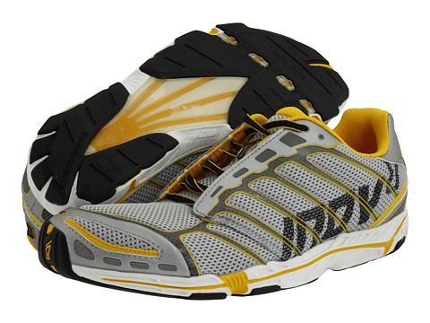 inov-8 - Road-X 255 (Silver/Yellow) Men's Running Shoes