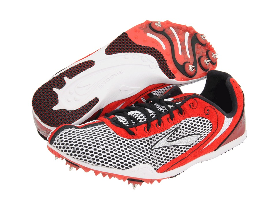 Brooks - The Wire (Slam/Silver/White/Black) Track Shoes