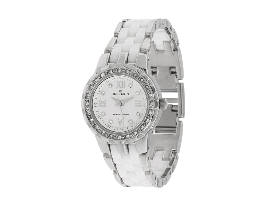 Anne Klein - 10-9457 (White/Silver) Watches