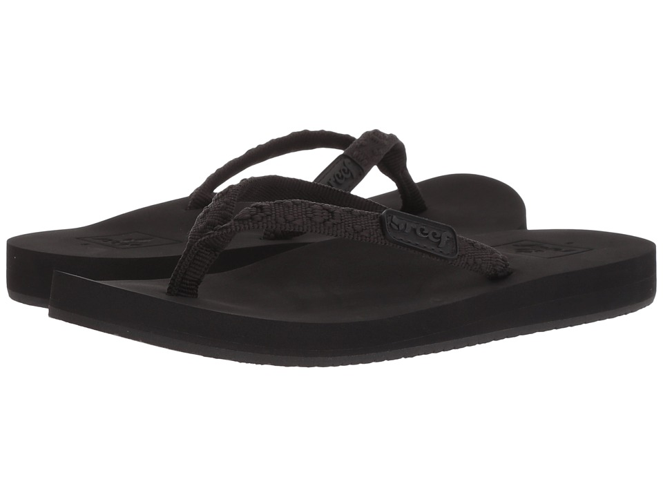 Reef - Ginger (Black/Black) Women