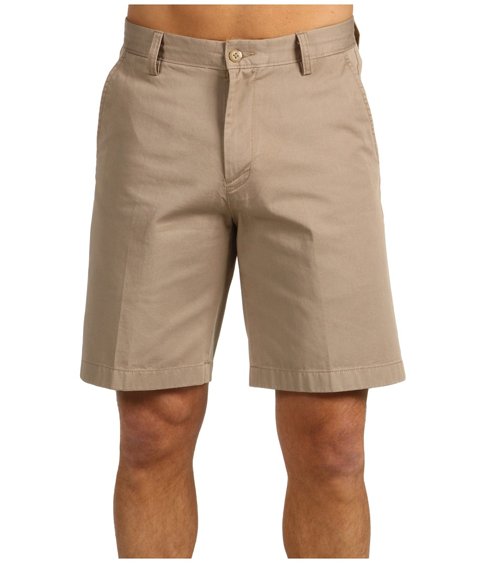 Nautica - True Khaki Flat Front Short (True Khaki) Men's Shorts
