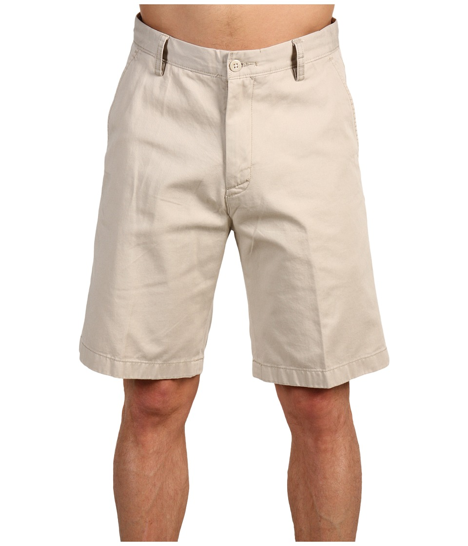 Nautica - True Khaki Flat Front Short (True Stone) Men's Shorts