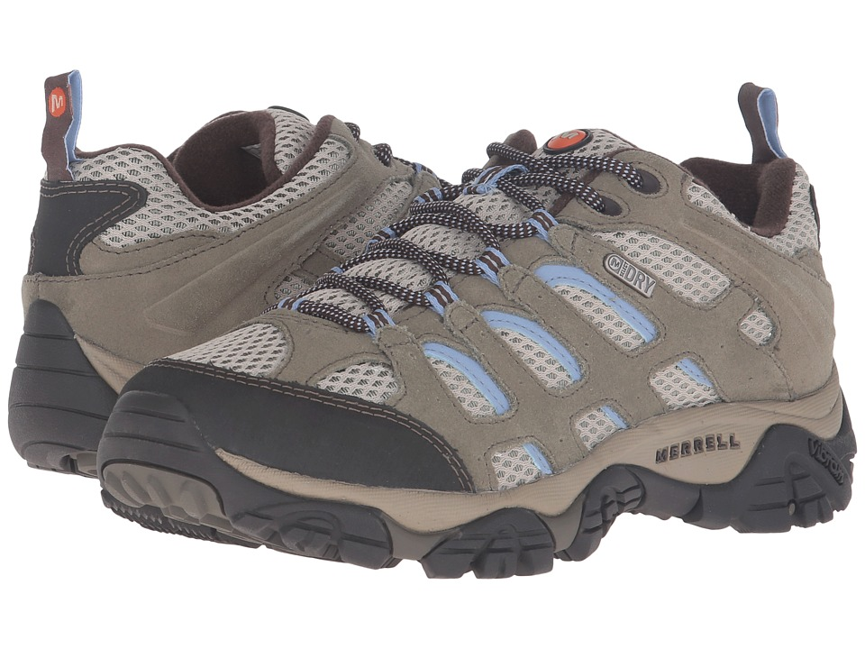 Merrell - Moab Waterproof (Dusty Olive) Women's Lace up casual Shoes