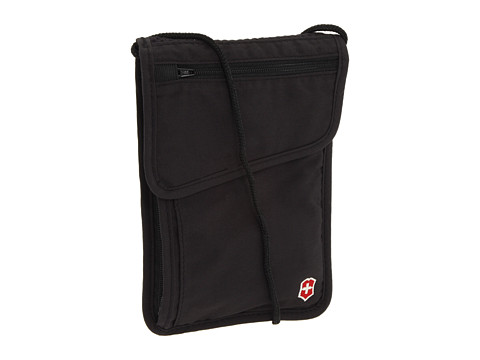 Victorinox - Travel Accessories 3.0 Deluxe Concealed Security Pouch (Black) Bags