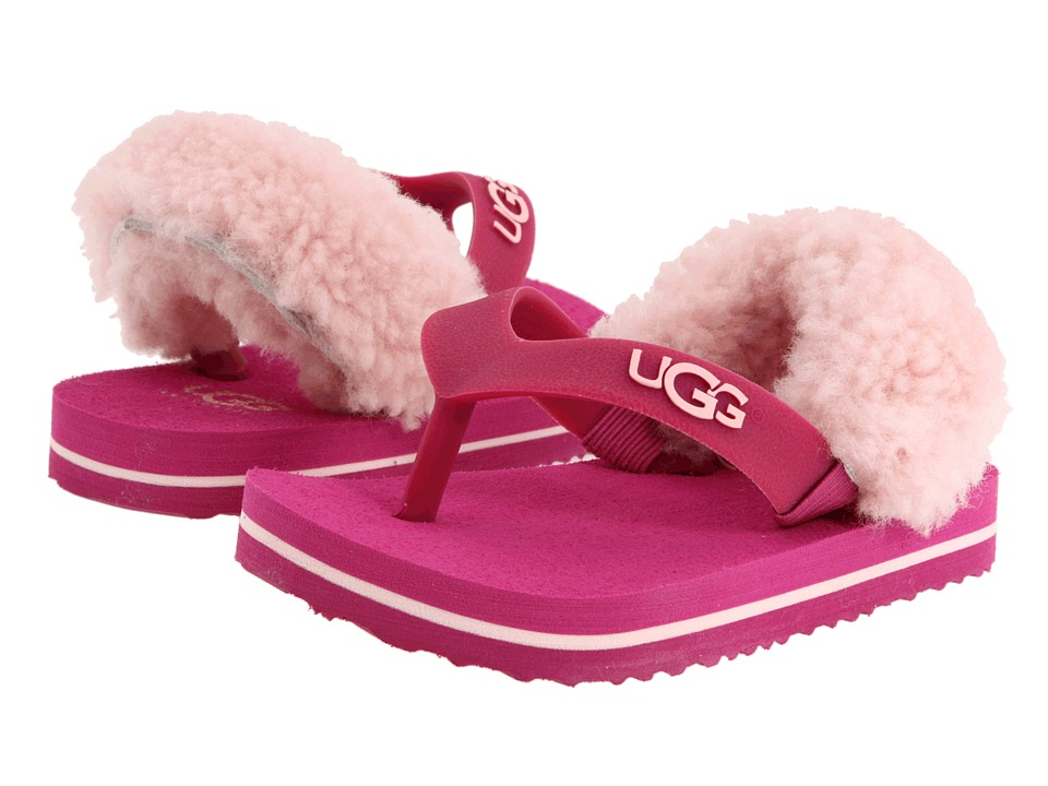UGG Kids - Yia Yia (Infant/Toddler) (Fruit Punch/Baby Pink) Girl