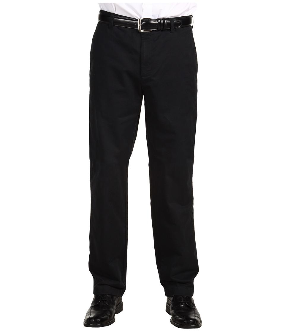 Calvin Klein - Dylan Textured Straight Fit Pants (Black) Men's Casual Pants