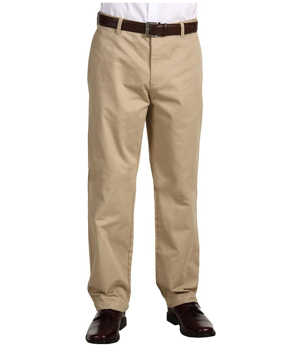 Calvin Klein - Dylan Textured Straight Fit Pants (Classic Khaki) Men's Casual Pants