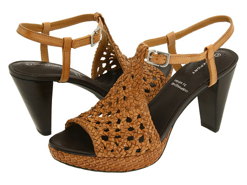 Rockport - Audry Quarter Strap Woven (Biscotti Woven Leather) Women's Sandals