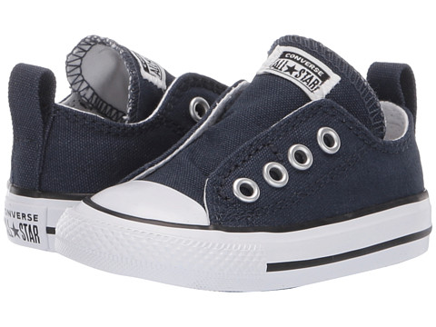 Converse Kids - Chuck Taylor All Star Core Slip (Infant/Toddler) (Athletic Navy) Kids Shoes