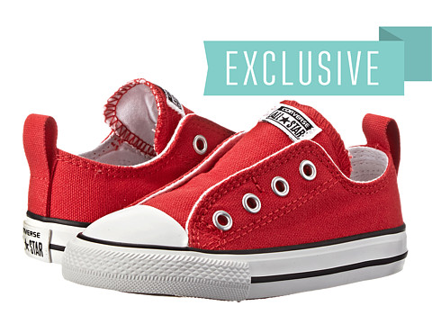 Converse Kids - Chuck Taylor All Star Core Slip (Infant/Toddler) (Varsity Red) Kids Shoes