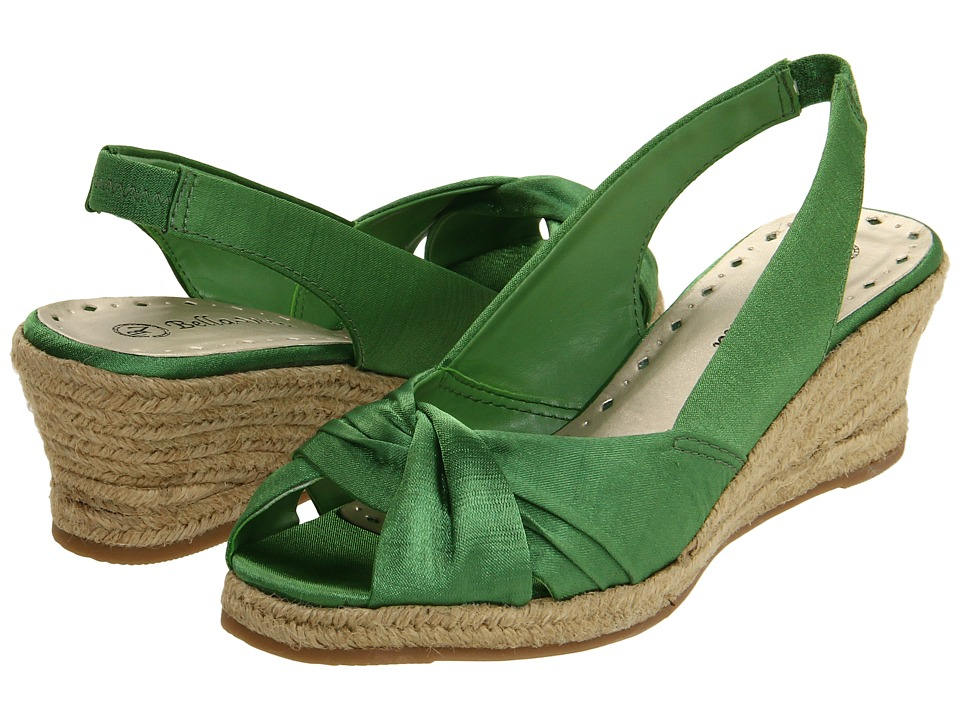Bella-Vita - Sangria (Kelly Green Silk) Women
