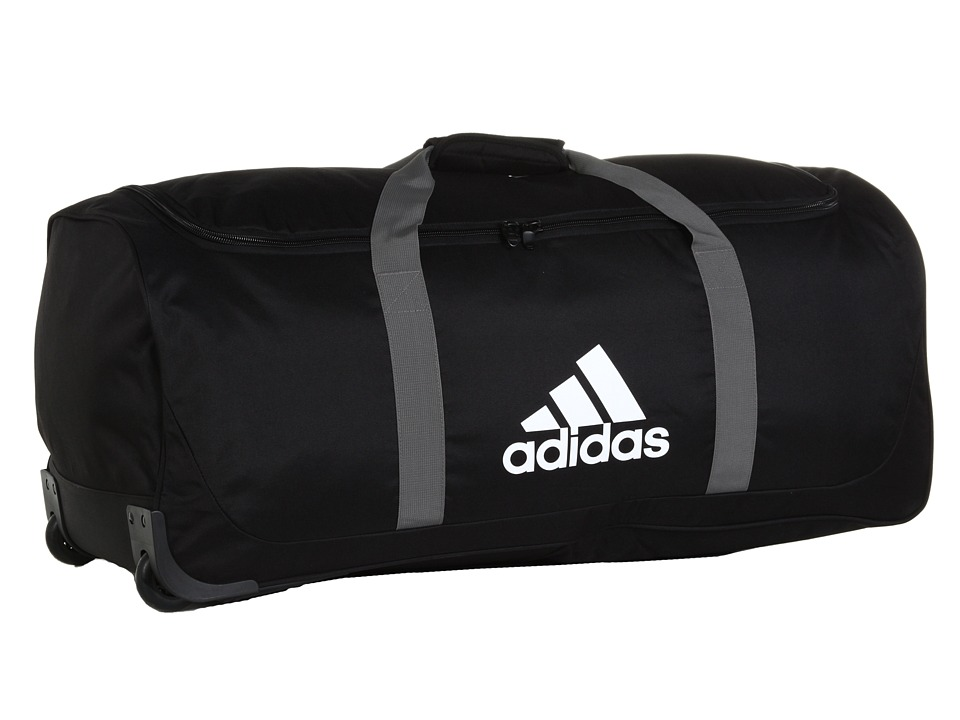 adidas - Team Wheel Bag - XL (Black) Duffel Bags