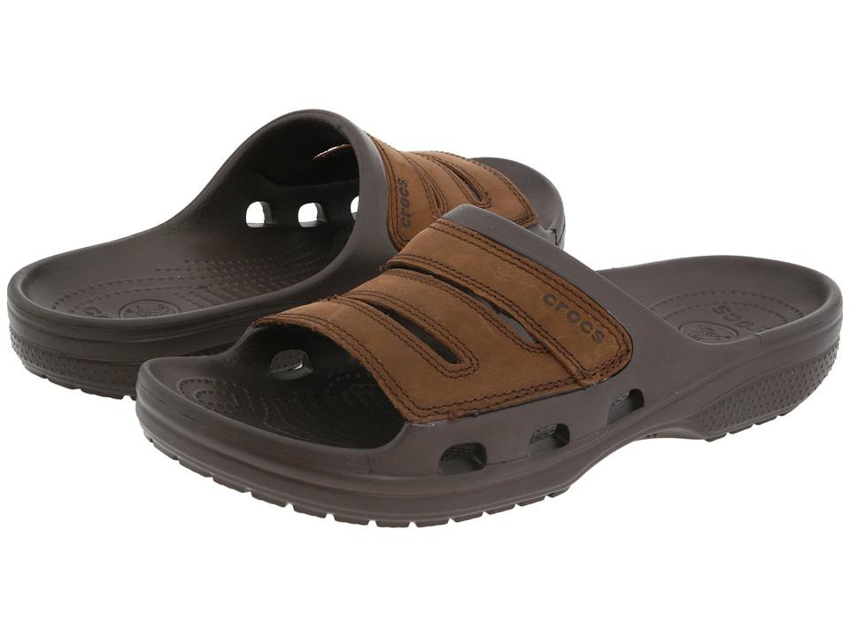 Crocs Yukon Slide (Espresso/Espresso) Men