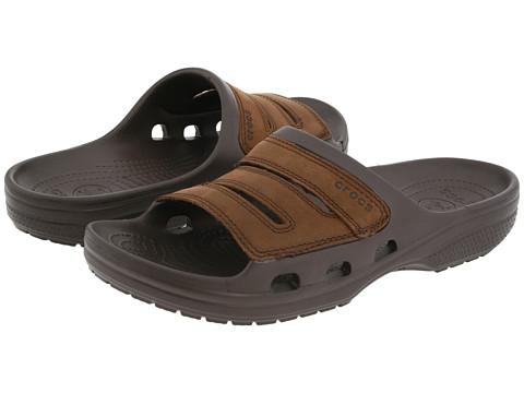 Crocs - Yukon Slide (Espresso/Espresso) Men